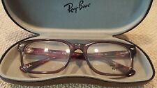 RAYBAN RB 5288 5628 Eyeglass Frames Brown Red Havana 51 18 135 New