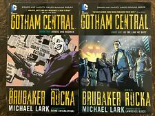Gotham Central Book 1 ( In the line of duty) Book 2 ( Jokers & Madmen)