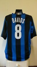 Inter Milan Home Football Shirt Jersey 2004-2005 DAVIDS 8 2XL XXL