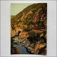 Paysages Du Vivarais Les Gorges du Doux Train Postcard (P438)