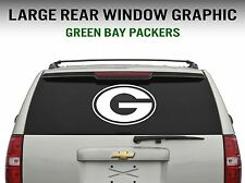 """Green Bay Packers Window Decal Graphic Sticker Car Truck SUV - Large 22"""" Wide"""