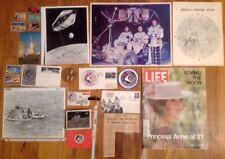 NASA APOLLO 15 LOT Newspaper Astronaut Rover Scott Navy US Bay Kennedy Space...