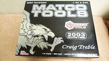 RACING CHAMPS MATCO TOOLS '03 COLLECT SER 1/2K GRAIG TREBLE SUZUKI DRAG BIKE 4D