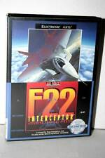 F22 INTERCEPTOR GIOCO USATO BUONO STATO SEGA GENESIS ED. AMERICANA FR1 32978