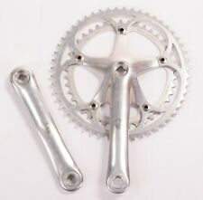 Vintage Campagnolo Croce D'Aune Bicycle Crankset Double 42-52t 170 mm