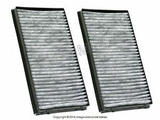 BMW E65 Activated Charcoal Cabin Air Filter Set CORTECO OEM +WARRANTY