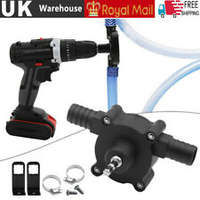 More details for portable electric powered drill pump self priming oil fluid water transfer pumps