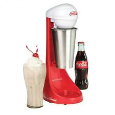 Nostalgia Coca-Cola Limited Edition Two-Speed Milkshake Maker, Red/White