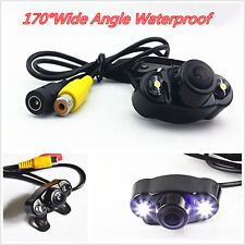 170º Hd Wide Angle Car Dual-Led Rear View Reverse Backup Camera Kit Night Vision (Fits: Whippet)