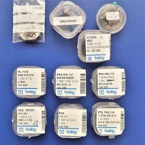 neuwertige Quartz Uhrwerke, Funktion nicht überprüft, keine Originalverpackung
