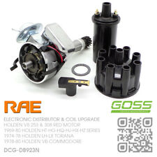 RAE ELECTRONIC DISTRIBUTOR & GOSS COIL V8 253-308 5.0L RED [HOLDEN VB COMMODORE