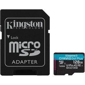Kingston micro SDXC (T-Flash) 128GB Classe 10 di tipo UHS-I (U3) 170 MB/s Lettur