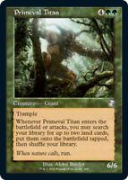 Primeval Titan x1 Magic the Gathering 1x Time Spiral Remastered mtg card
