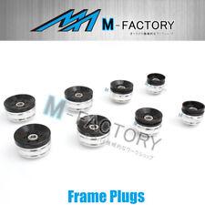 Black CNC Frame Plugs Caps Kit Fit Ducati Diavel 2009-2015