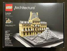 LEGO Architecture Louvre 21024 Paris France Landmark Retired NEW