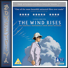 THE WIND RISES -STUDIO GHIBLI COLLECTION - DOUBLE PLAY**BRAND NEW BLU-RAY & DVD*