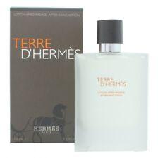 HERMÈS TERRE D'HERMÈS AFTERSHAVE LOTION 100ML SPLASH - MEN'S FOR HIM. NEW