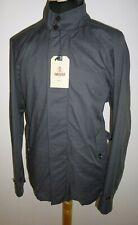 Baracuta G5 Corto Gabardina chaqueta de conducción £ 379 Antracita Gris para Hombre Talla 44