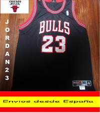 CAMISETA NBA RETRO  CHICAGO BULLS JORDAN  N.23  TALLA (S) COLOR NEGRO LETRAS BL.