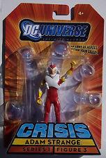 DC UNIVERSE INFINITE HEROES CRISIS. ADAM STRANGE MINI ACTION FIGURE. NEW ON CARD