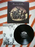 Paul McCartney & Wings Band On The Run Vinyl UK 1973 MPL / EMI 5/6 HTM Matrix LP