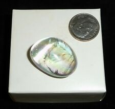 Quartz Crystal Angel Aura Polished Stone Brazil