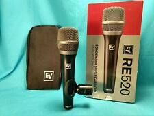 Electro-Voice RE520 Supercardioid Condenser Vocal Microphone EV VERY NICE!