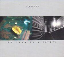 CD DIGIPACK 4 TITRES GERARD MANSET -  FNAC 1999