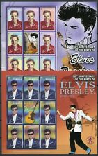 DOMINICA 2005 Elvis Presley Musik 3666-3669 Kleinbögen ** MNH