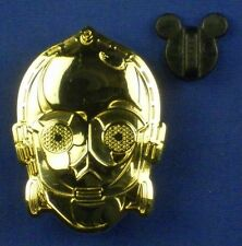 Star Wars Collection C-3PO Head 2014 DS On Card Disney Pin # 100222