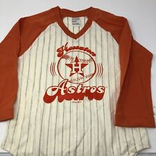 Houston Astros Long Sleeve Tee Shirt Girls  Medium