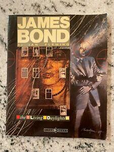 James Bond By Ian Fleming The Living Daylights Titan Books Graphic Novel J593