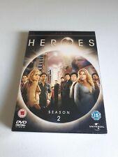 Heroes: Season 2 DVD (2008) Hayden Panettiere New & Sealed