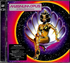 "MAGNUS OPUS: 20 DANCE MASTERPIECES (Original 12"" Full Length Versions) 2CD Set."