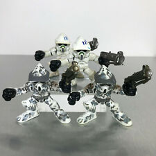 Star Wars Galactic Heroes ARF CLONE TROOPER play lot army builder white & camo