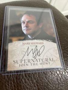 Cryptozoic: Supernatural Seasons 4-6 Autograph Card MS Mark Sheppard As Crowley