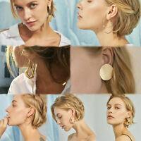 New Statement Metal Geometric For Women Boho Dangle Earrings Modern Jewelry Gift