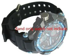 Mens Silicon Rubber SPORTS Waterproof Divers Watch Strap Band 18mm 23mm