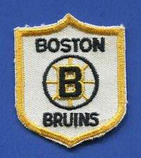 "Boston Bruins Shield 2"" x 2 1/2"" Embroidered Patch - 13168"