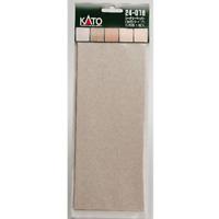 Kato 24-018 Papier Paysage Type Sable / Scenery Paper Sand Type 5pcs - N&HO
