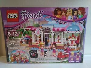 New LEGO Sealed Friends Heartlake Cupcake Cafe 41119 Retired Christmas