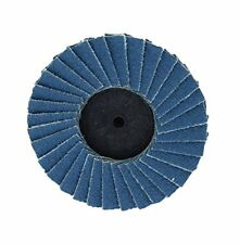 "60 Grit 2"" Grinding Sanding Flap Wheels Discs 10-Pack With Mandrel Roloc™ Style"