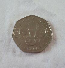 Rare Scouts 2007 50p coins