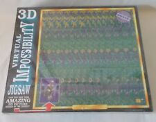 New 3D Picture Virtual Impossibility 768 Piece Jigsaw Puzzle Mind Boggler 1994