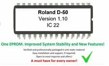 Roland D-50 - Version 1.10 Firmware OS Upgrade OS (Early revisions) for D50 LA