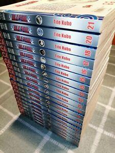 Manga Bleach Band 1 - 18 und 20 - 21 + kostenl.Beilage Band 19 engl. und Band 22
