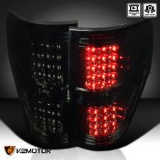 Smoke Lens 2009-2014 Ford F150 Pickup LED Brake Lamps Tail Lights Left+Right