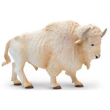 White Buffalo North American Wildlife Figure Safari Ltd Toys Educational