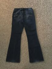 Silver Aiko Jeans Bootcut WOMENS size 28/33 (MEASURED 30x31) (3155)