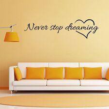 Large Removable Words Art Vinyl Quote Decal Mural Room Decor Home Wall Sticker